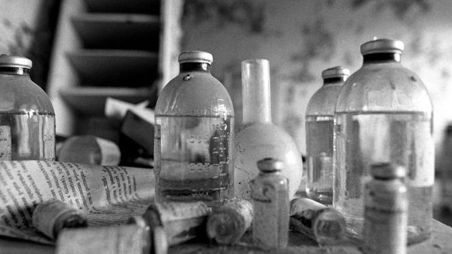 The doctor's office in Medical Centre 26 in Pripyat