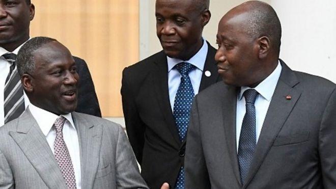 Adama Bictogo le secrétariat exécutif du RHDP estime que la candidature d'Alassane Ouattara à la présidentielle d'octobre 2020 n'est exclu.