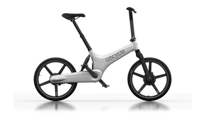 Электрический складной велосипед G3