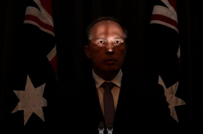Peter Dutton, Australia's immigration minister