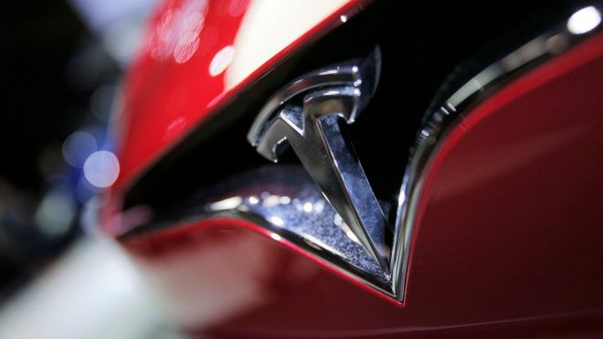 Tesla car logo