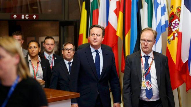 Ivan Rogers and David Cameron