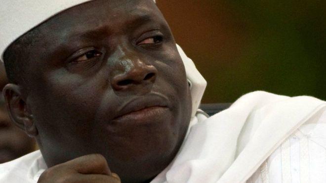 Rais Yahyah Jammeh wa Gambia