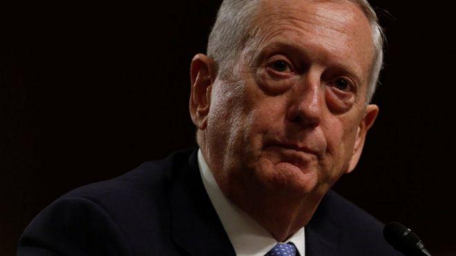 美国防长人选马蒂斯称以实力应对中俄挑战