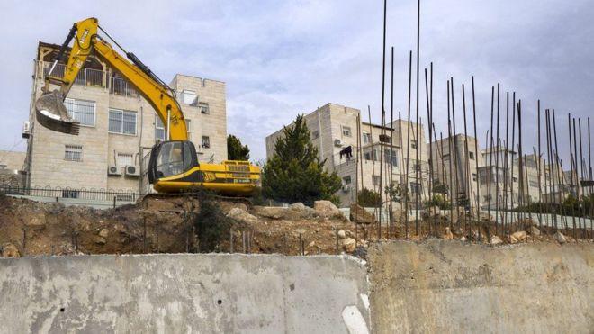 Makaazi mapya ya Israel yanayojengwa katika Ardhi ya Palestina