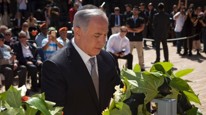 PM Benjamin Netanyahu at Holocaust Remembrance Day - 5 May