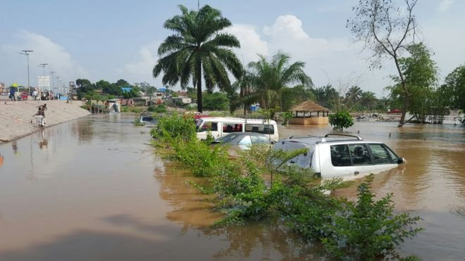 Flooding in Kinshasa December 2015