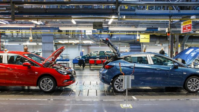 Vauxhall Astra production