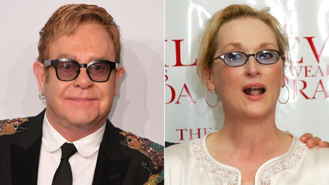 Sir Elton John is writing the music for The Devil Wears Prada musical