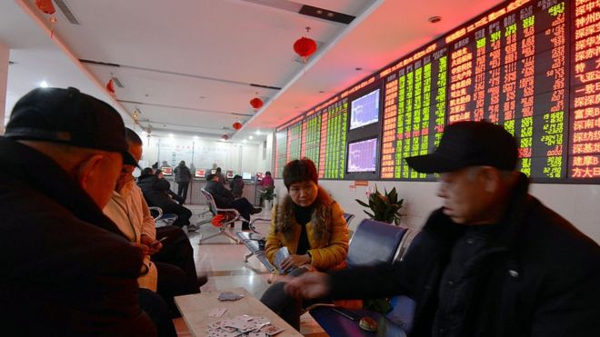 87483219 shanghai low - Chinese Shares Exted losses in volatile trading session