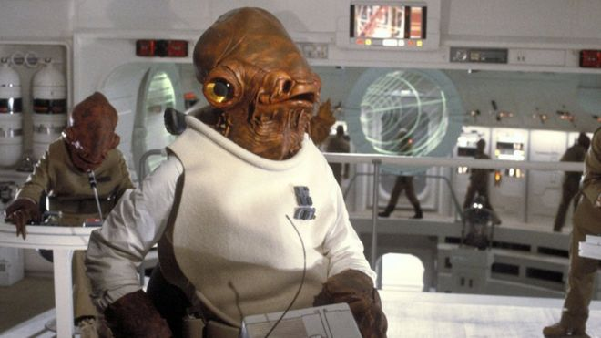 Erik Bauersfeld played Admiral Ackbar in Return of the Jedi