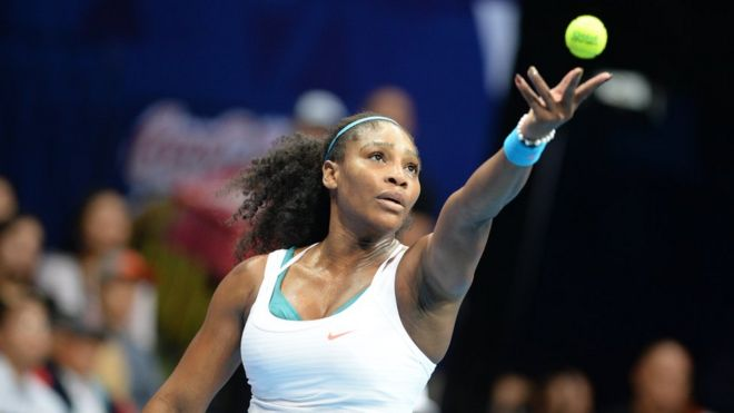 Serena Williams' award has been shadowed by criticism that racehorse American Pharaoh deserved the title.