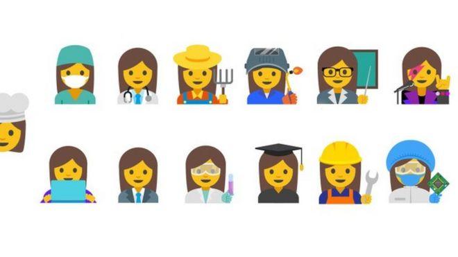 Female emojis