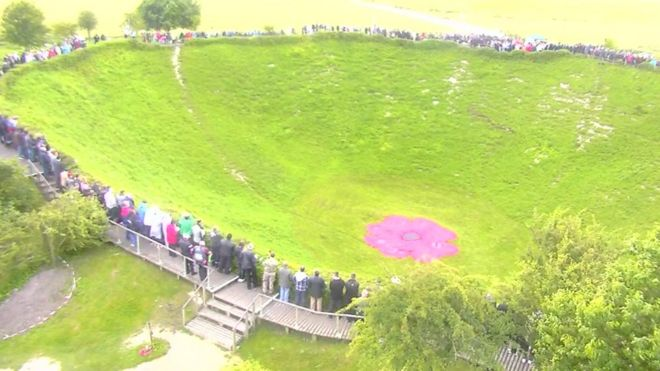 Lochnagar Crater in France
