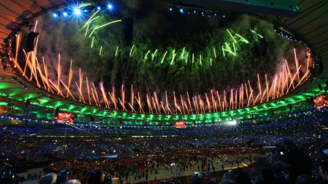 Ceremonia de apertura de Río 2016