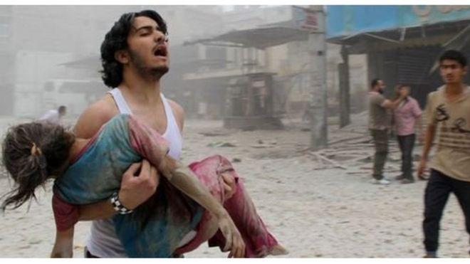 Madhara ya vita Syria