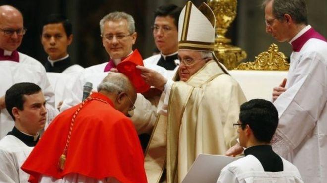 Papa Francis amewateua makadinali 17 wapya