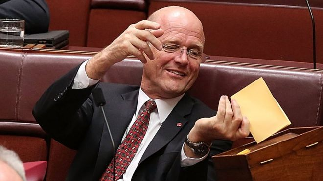 david leyonhjelm was once branded the nastiest most sexist politician in australia bbc sydney offices office