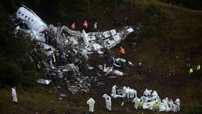 avión accidente