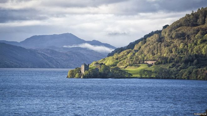 Loch Ness will be one of five lochs competitors will be asked to swim