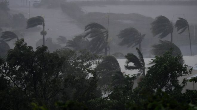 توفان فوق استوایی دبی به ساحل استرالیا رسید