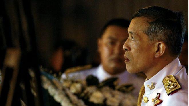 Thái tử Maha Vajiralongkorn ngày 23/10/2016