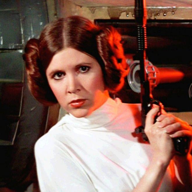 Новости Звездных Войн (Star Wars news): Кэрри Фишер: принцесса и звезда Звездных войн #RIPCarrieFisher