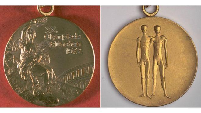 1972 medalla olímpica