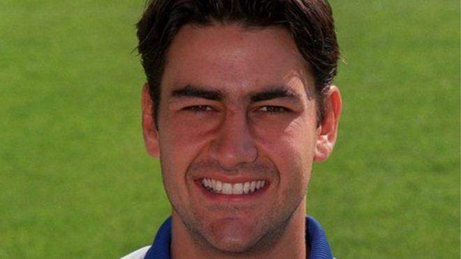 Ex-jogador de futebol inglês Andy Woodward