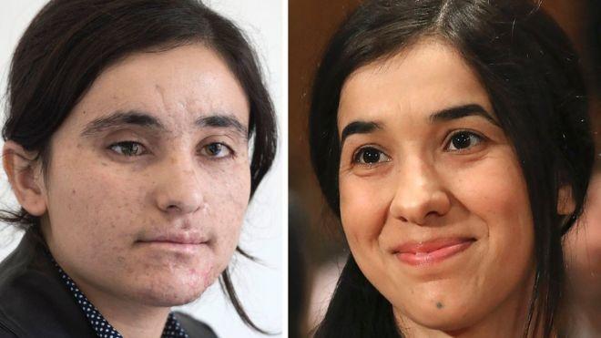 Lamiya Aji Bashar e Nadia Murad Basee