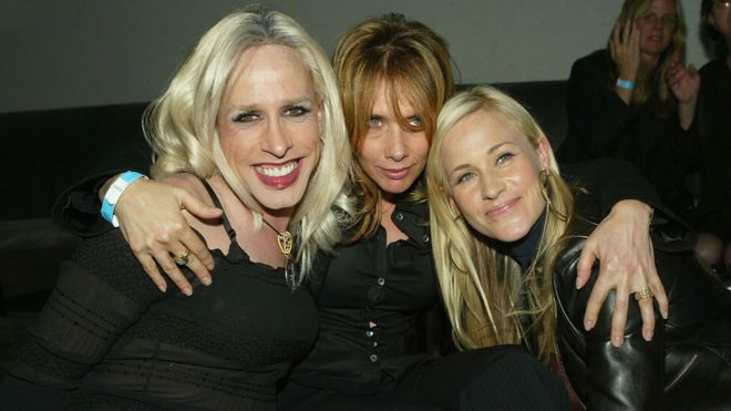 Alexis, Rosanna and Patricia Arquette in 2004