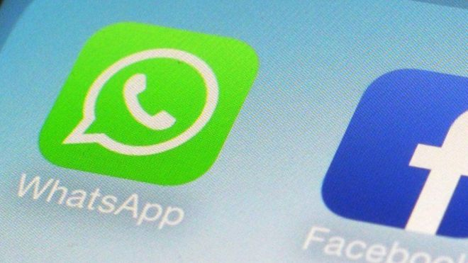 WhatsApp na facebook