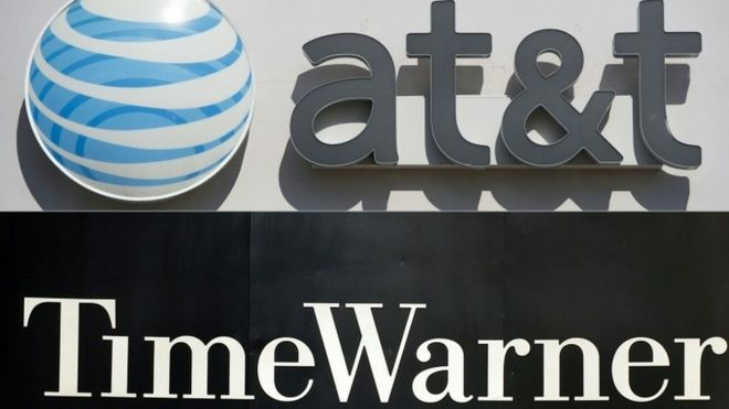 AT&T seeks to buy Time Warner for nearly $86bn