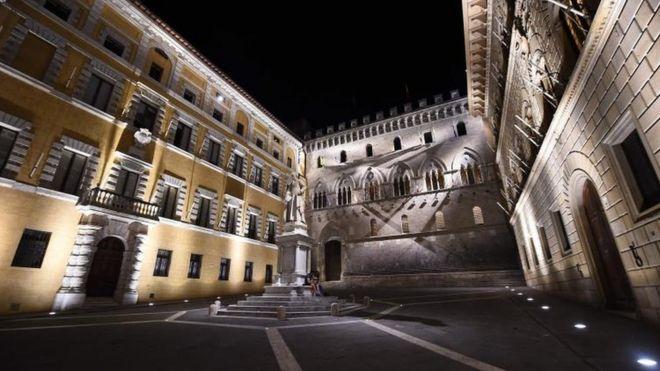 Headquarters of Monte dei Paschi di Siena Bank