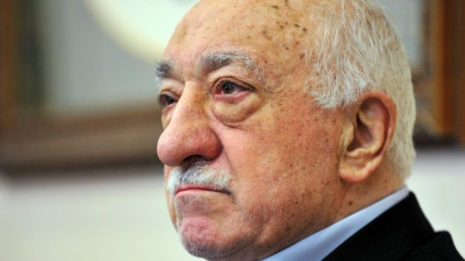 Turkey has demanded the extradition of Fethullah Gulen from the US where he lives in exile