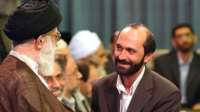 Iran's Supreme Leader Ayatollah Ali Khamenei meeting Saeed Tousi