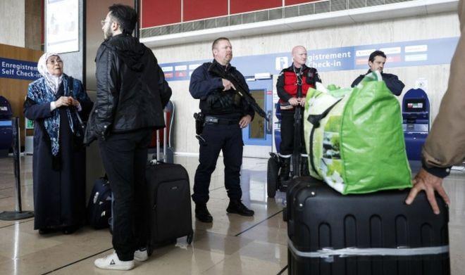 فرودگاه اورلی پاریس یک روز بعد از این واقعه تحت تدابیر شدید امنیتی بازگشایی شد