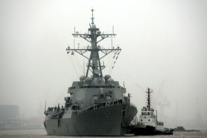86472002 029859797 1 - US to return  to  south China  Sea  after  warship  visit