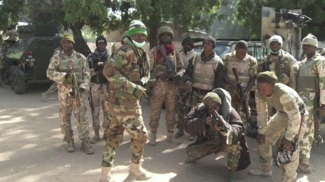 Wanajeshi wa Nigeria