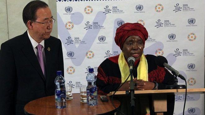 Ban Ki-moon, Nkosazana Dlamini-Zuma