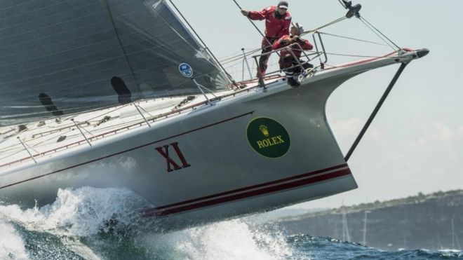 wild oats xi compete in the sydney to hobart race photo 26 december 2016 bbc sydney offices office