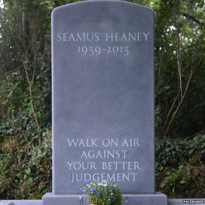 Seamus Heaney grave