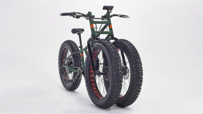 Электрический велосипед Electric Juggernaut