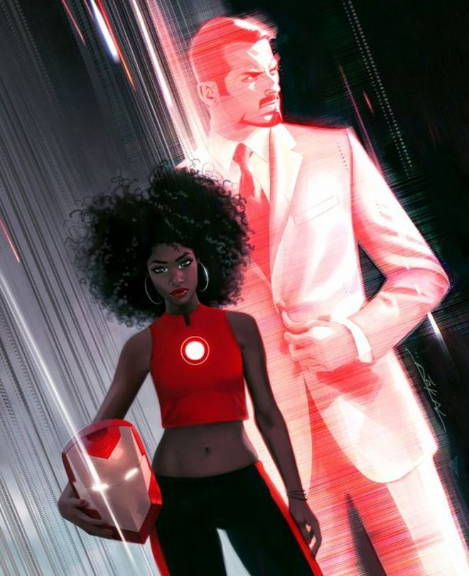 The new Iron Man character, Riri Williams