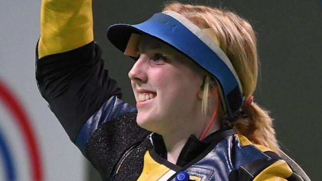 Ginny Thrasher olympics