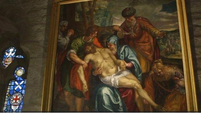Pieta by Frances Montemezzano