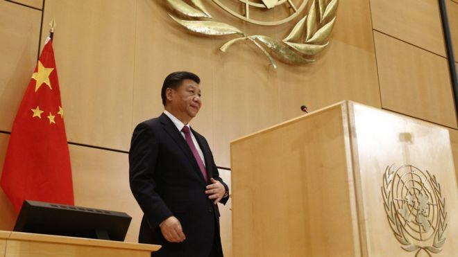 习近平联合国日内瓦总部演讲 暗劝特朗普勿画地为牢