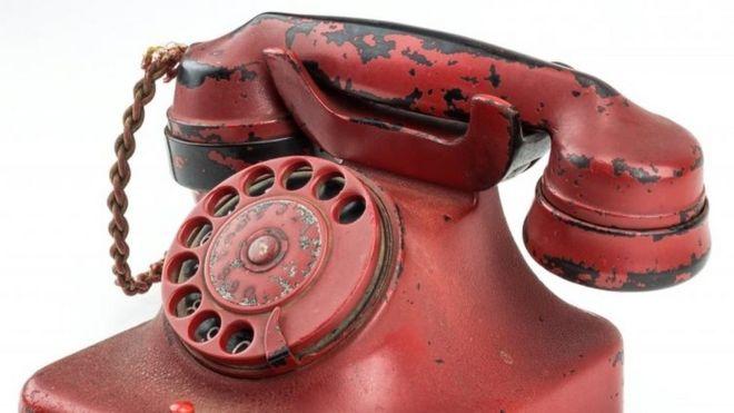 Красный телефон Гитлера продан с аукциона за 243 тыс. долларов