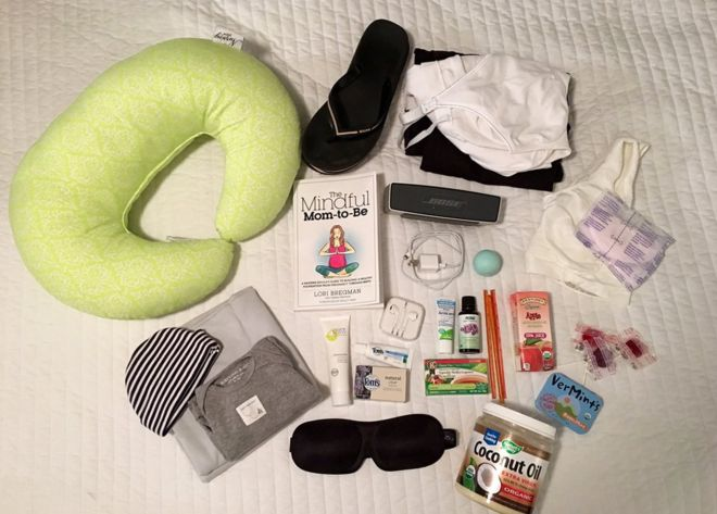Deanna Neiers maternity bag