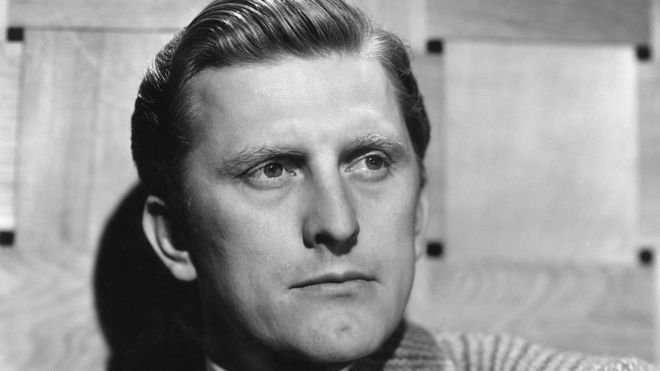 Kirk Douglas in an undated 1950s publicity shot